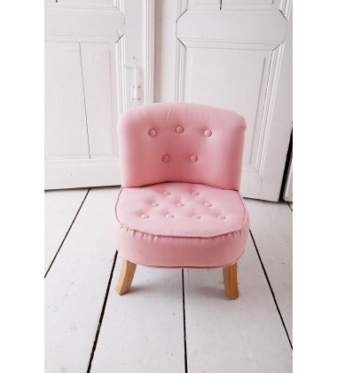 Krėslas rožinis