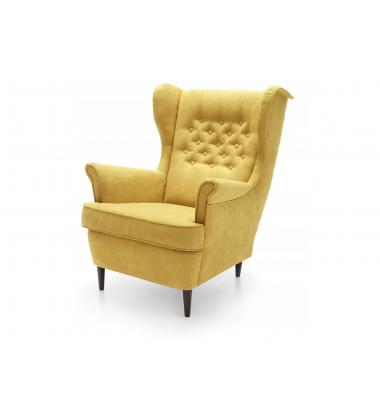 Krėslas su pufu + pagalvėlė