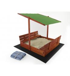 Smėlio dėžė su stogu + dovana!