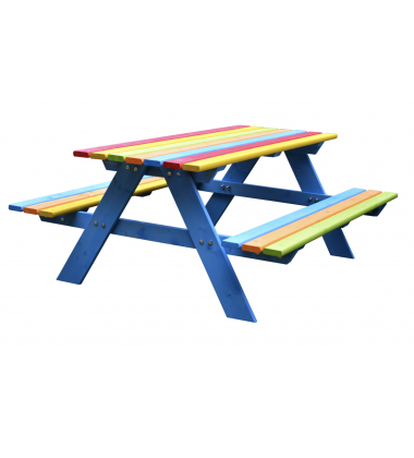 Smėlio dėžė + suoliukas + stalas + dovana!