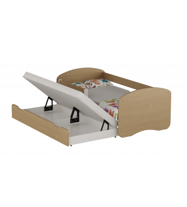 Dvivietė ištraukiama lova Acor