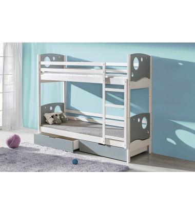 Dviaukštė vaikiška lova Dolman