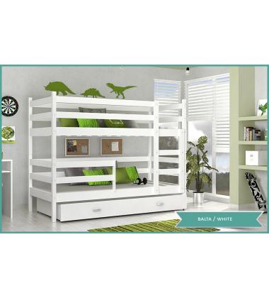 Dviaukštė vaikiška lova Lomo-2