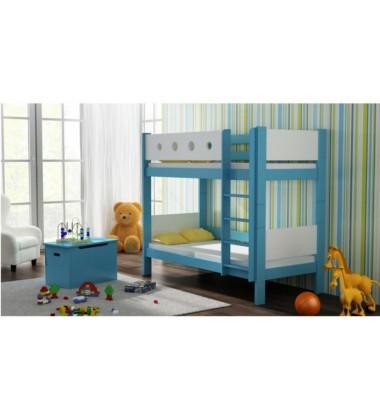 Dviaukštė vaikiška lova Lunu