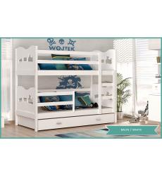 Dviaukštė vaikiška lova Maxi