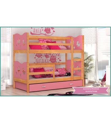 Dviaukštė vaikiška lova Maxi2