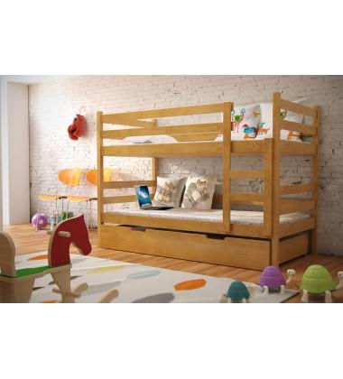 Dviaukštė vaikiška lova Noleru