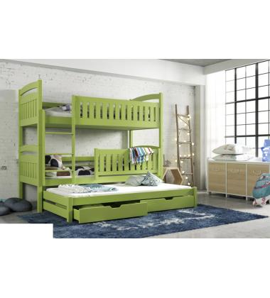 Trivietė vaikiška lova Alma