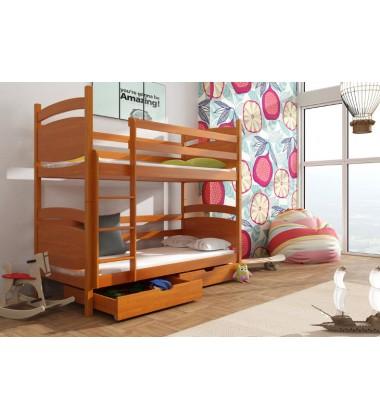 Dviaukštė vaikiška lova Melli